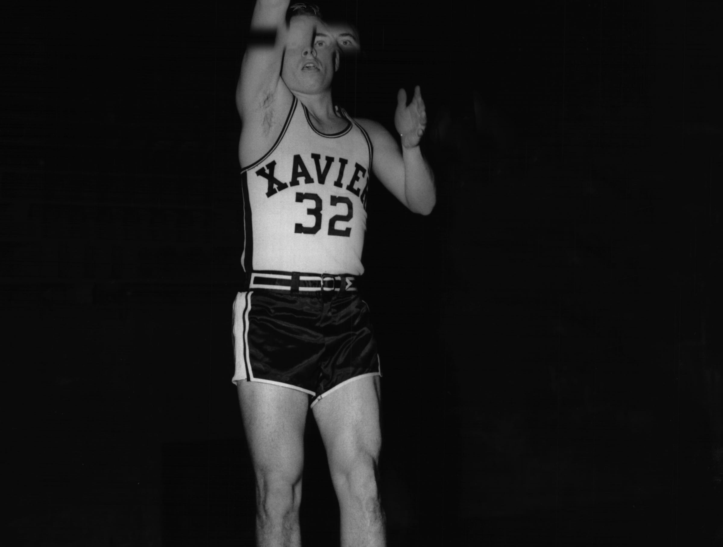 "Xavier coach Ned Wulk fondly describes team captain Jimmy Boothe, pictured, as the ""best little player in college basketball."" Rival teams offer a sold amen, for in two seasons, the senior guard, only five feet seven inches from toe to top, has scored 769 points and amazed spectators with his spectacular floor play."