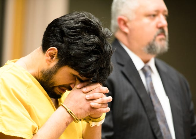Satwinder Singh appears for his arraignment on Wednesday, Jan. 2, 2019, at the Hamilton County Justice Center in Cincinnati. Singh was charged with aggravated vehicular homicide after striking a 2-year-old. The child died of his injuries the next day.