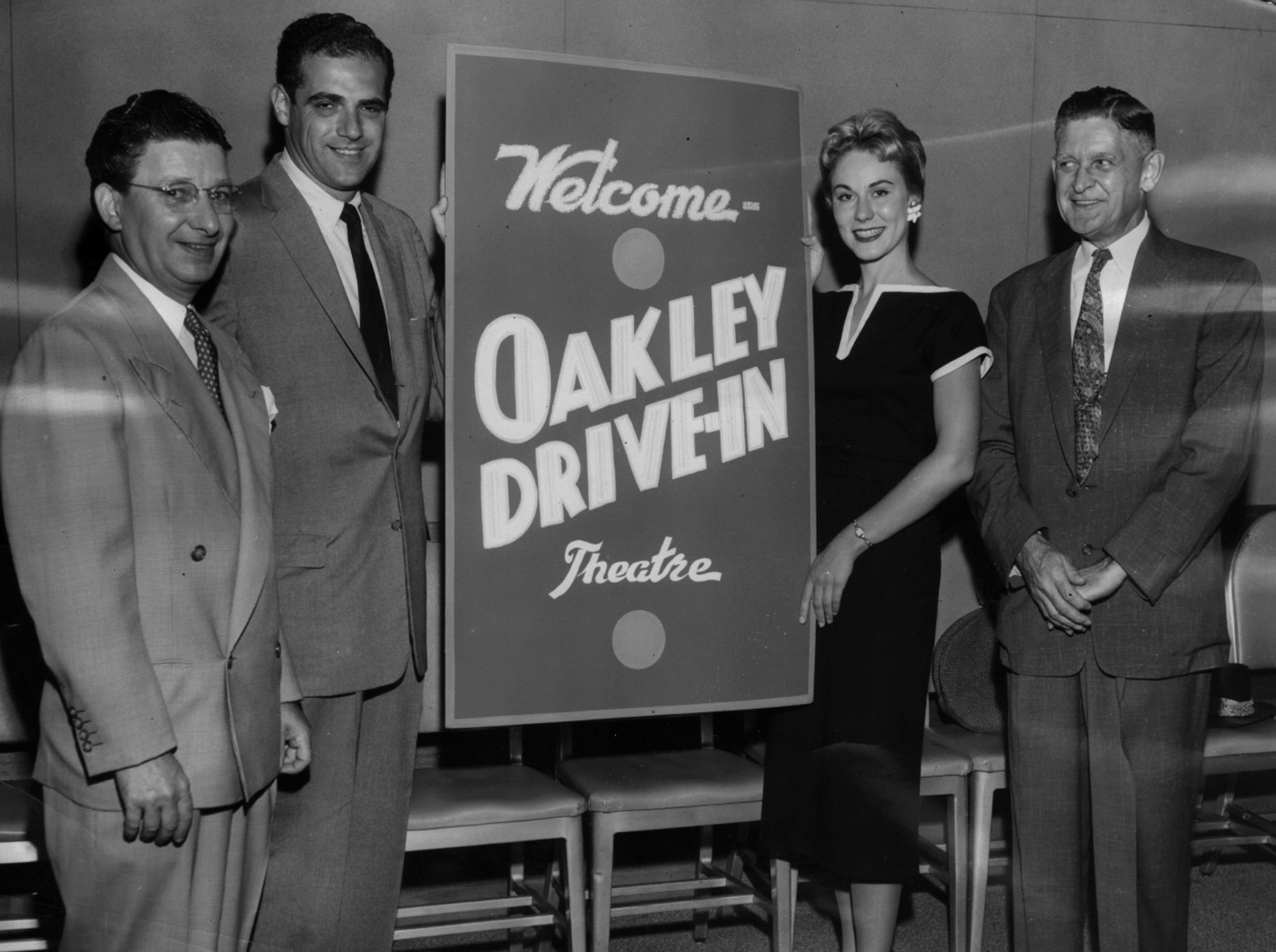 A drive-in was opened in Oakley in September 1956.