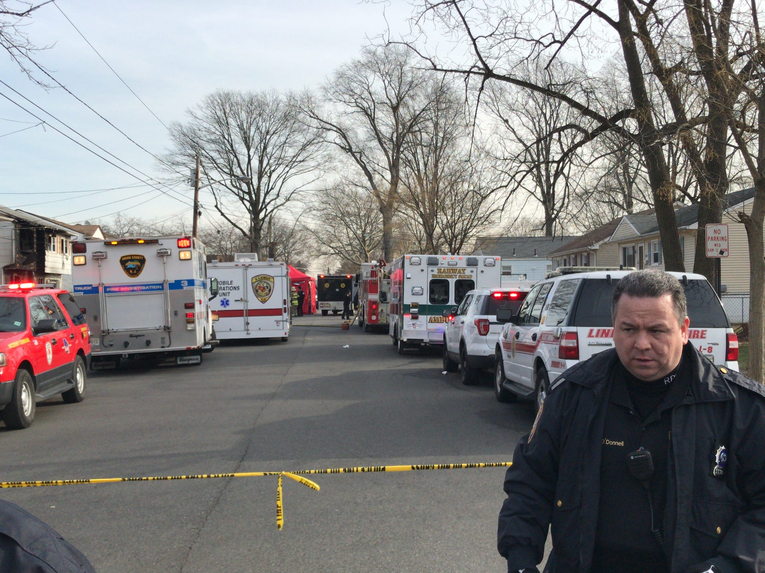 A woman in her 40s died on Jan. 2 in a fire in her Rahway home.