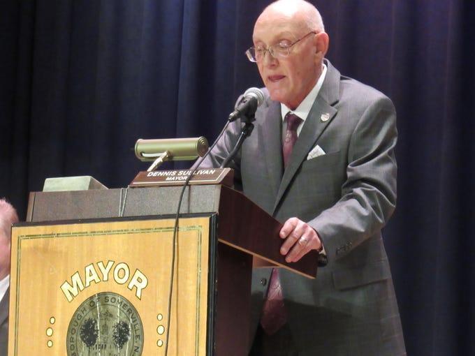 Somerville Mayor  Dennis Sullivan delivers his state-of-the-borough address