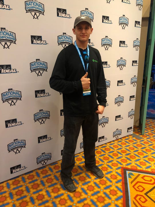 Kenton Asea at the 2018 IDEAL National Championship in Orlando, Florida.