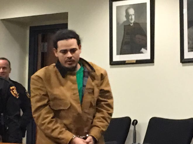 Douglas Roman Rodriguez entered a not guilty plea on Wedcnesday.