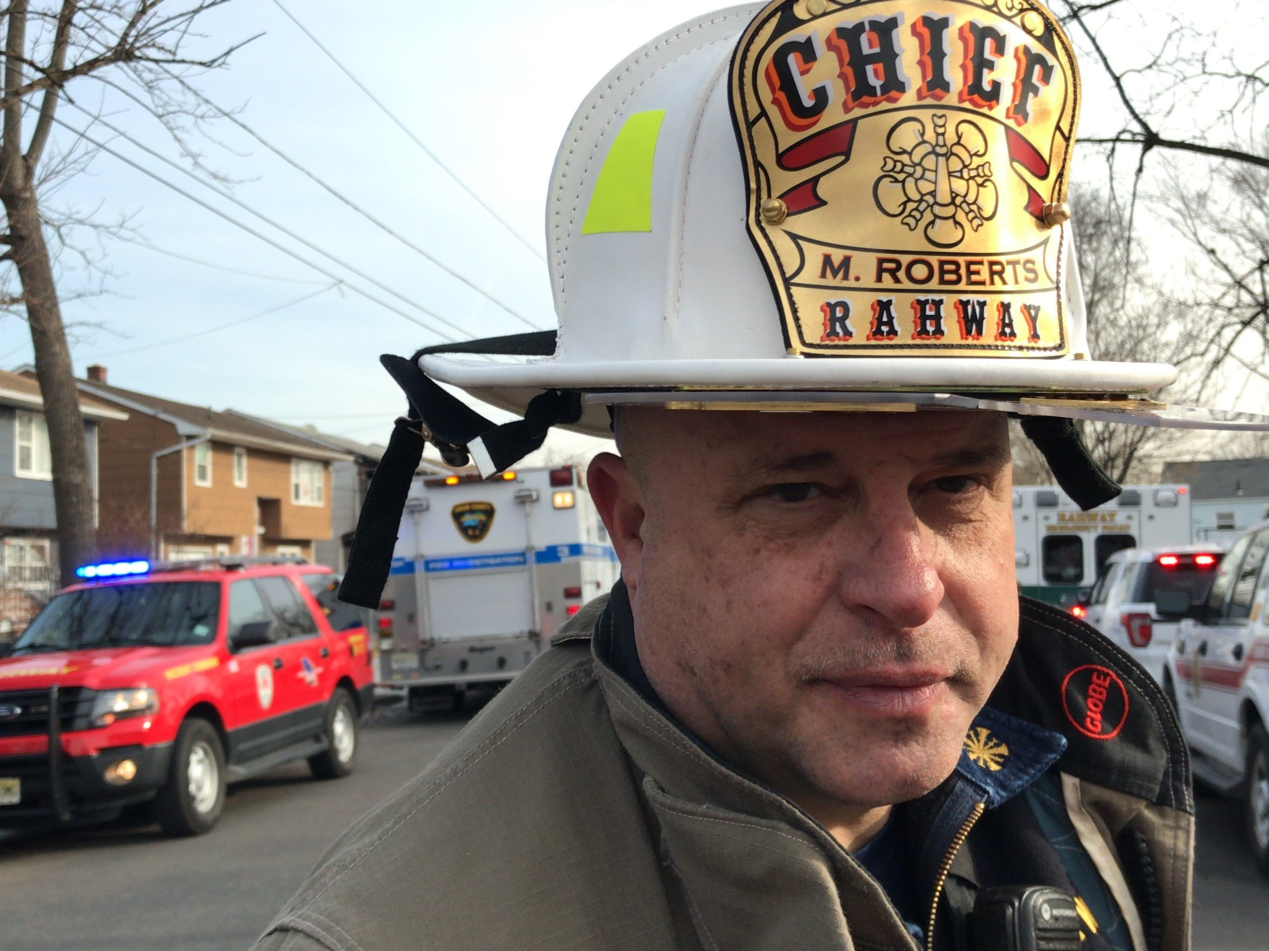 Rahway Fire Chief Michael Roberts