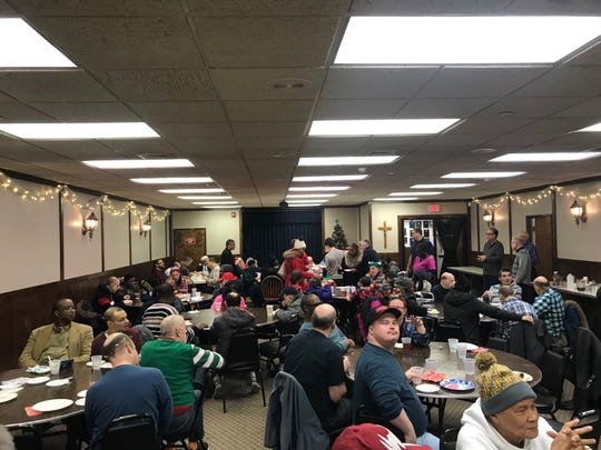The South Plainfield Knights of Columbus held their annual Keystone Residents Christmas party on Wednesday, Dec. 19. The Keystone Community which has been located in South Plainfield for many years recently placed theirresidents across Middlesex County in group home settings.