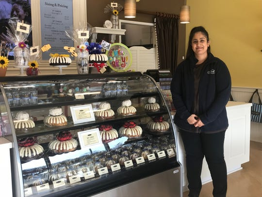 Nothing bundt Cakes opened Dec. 8 at 1443Route 1 South in the Raymour and Flanigan strip mall in North Brunswick. A grand opening will be held Jan. 11 and 12.