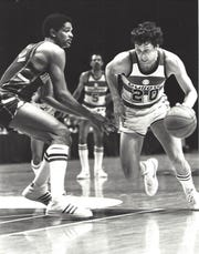 Garry Witts, a 1977 Saint Joseph graduate and member of the high school's Athletics Hall of Fame, played for the Washington Bullets during the 1981-82 NBA season.