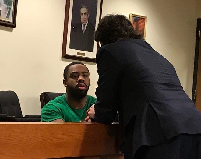 Izaia Bullock in court Wednesday.
