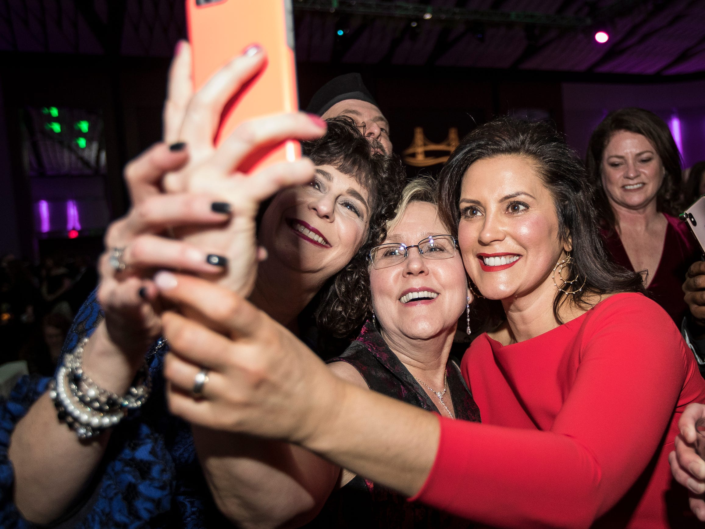 Michigan celebrates inauguration of 49th governor with ball at Cobo
