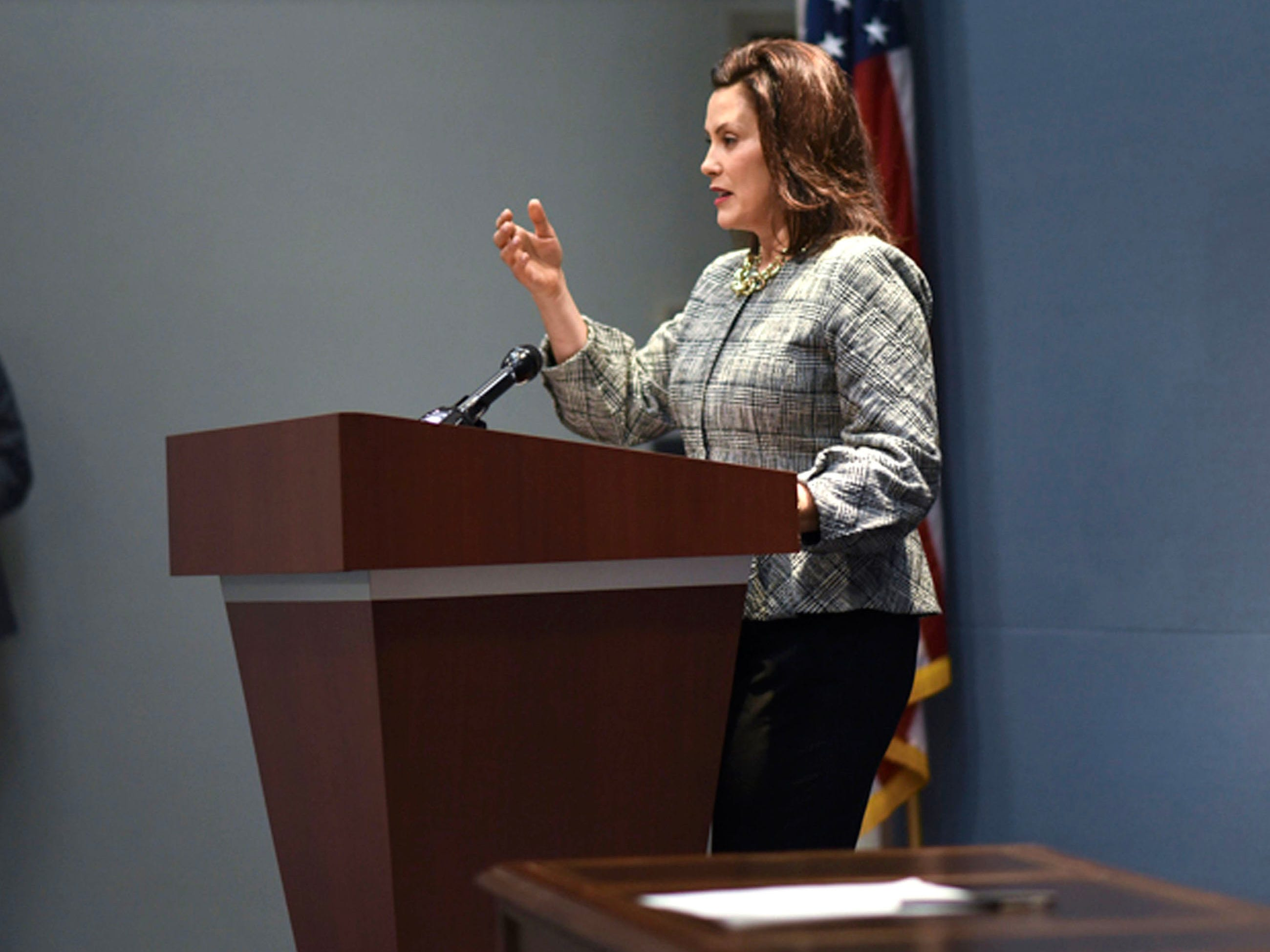 Whitmer bans use of private email accounts for state business