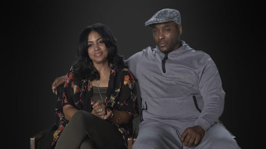 (L to R) Alice Clary and Angelo Clary star in the monumental documentary series, Surviving R. Kelly, premiering Thursday, January 3rd at 9pm ET/PT on Lifetime.  Photo by Courtesy of Lifetime Copyright 2019