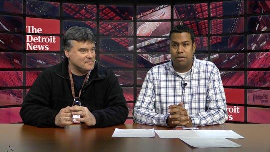 John Niyo and Ted Kulfan take a look at the Red Wings at midseason.