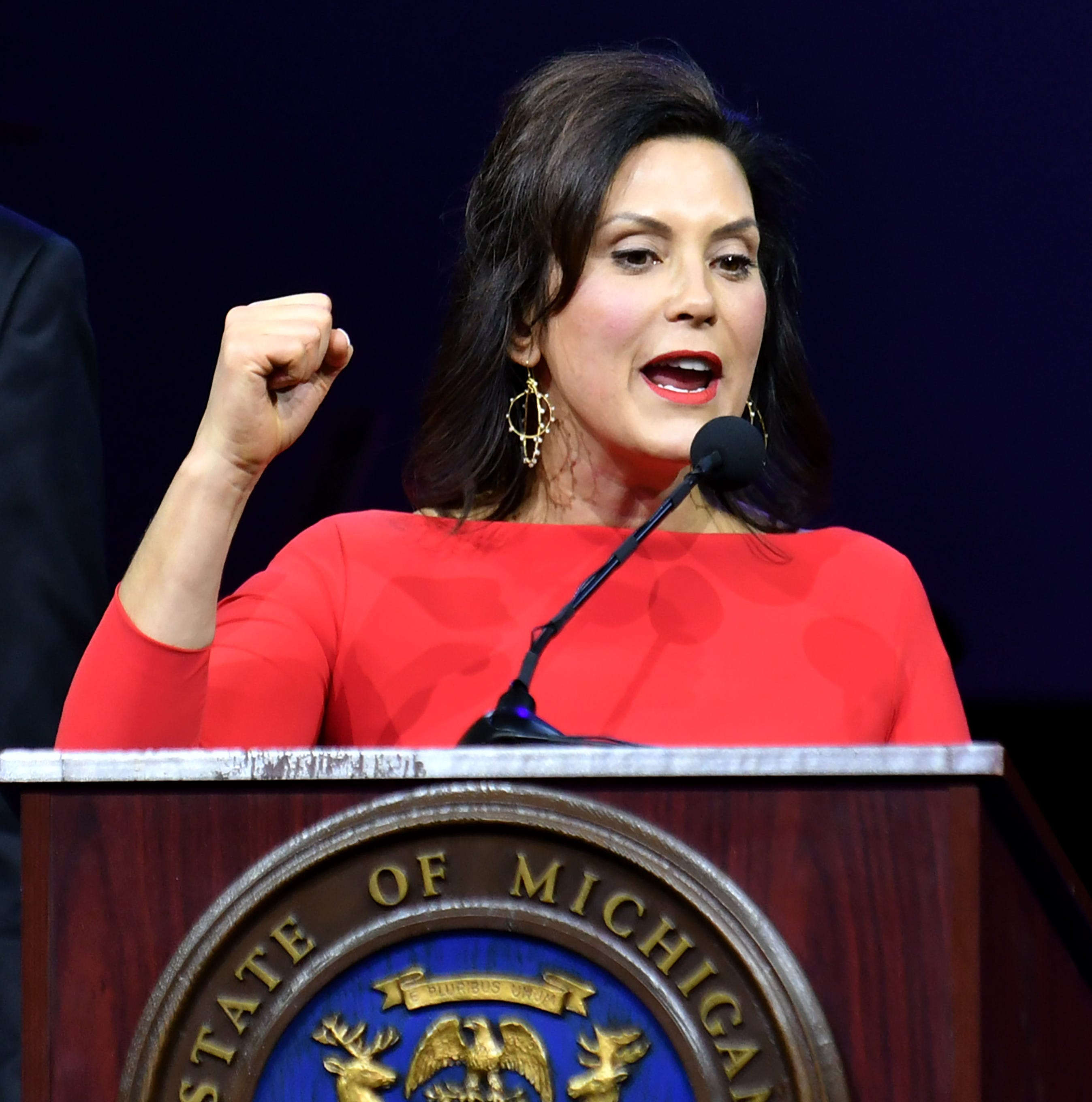 Whitmer set to speak at MSU women's march amid controversy