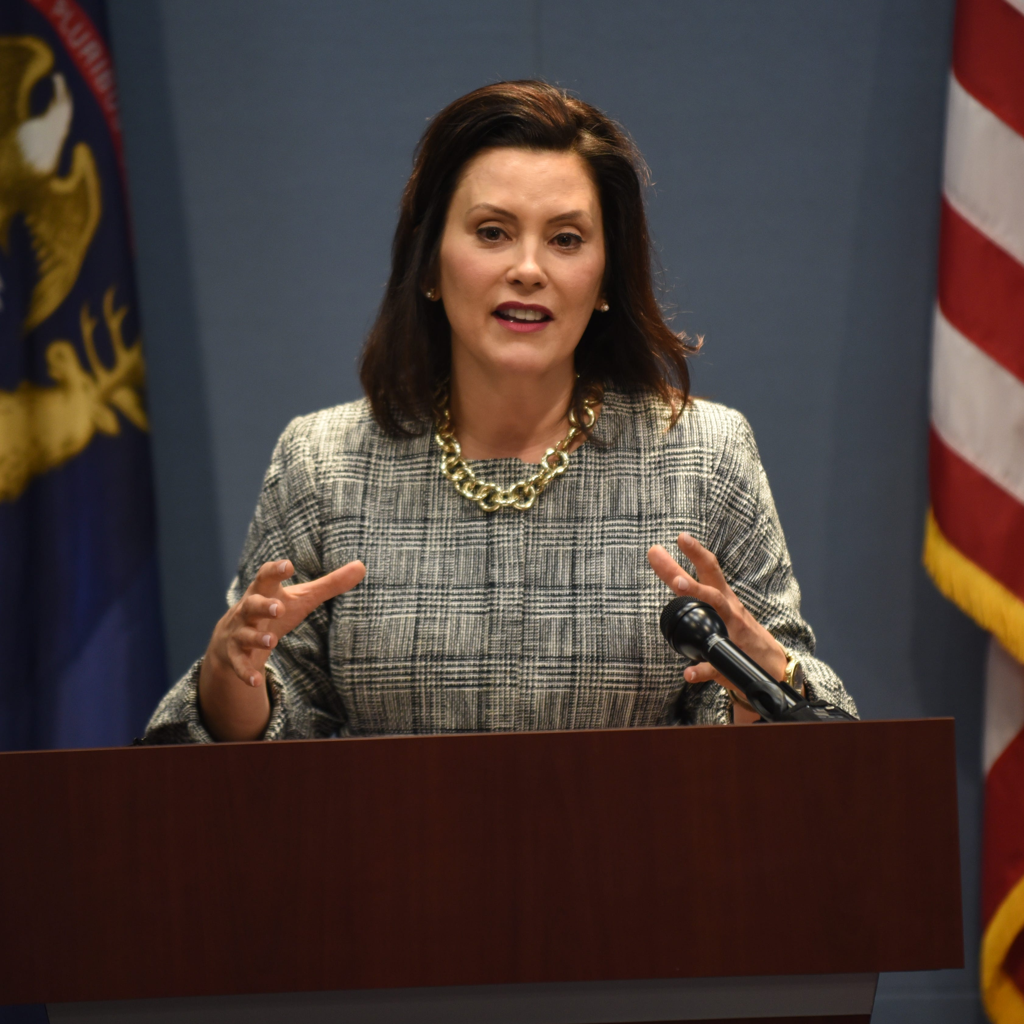 Whitmer to deliver first State of the State address in February