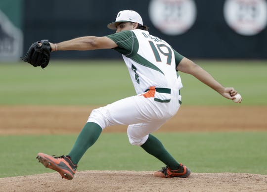 Bryan Garcia set the saves record at Miami before the Tigers drafted him in 2016.