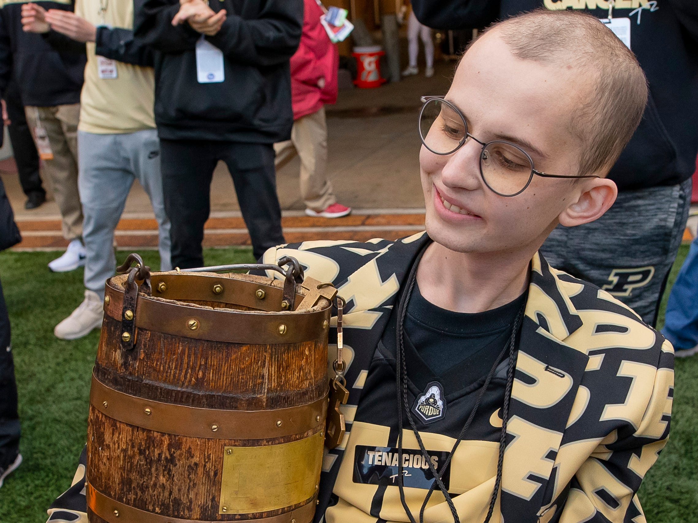Tyler Trent, Purdue student and Boilermakers super fan, of bone cancer. Jan. 1. He was 20.