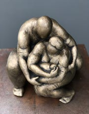 Nnamdi Okonkwo's sculptures can be seen and purchased Jan. 19-20 at Art Fest Naples.
