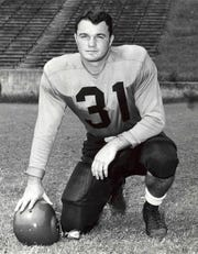 1948 photo of Clemson fullback Fred Cone.