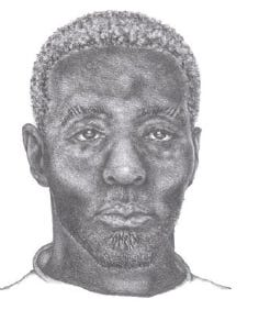 Indianapolis investigators released a sketch of a man suspected of sexual assault.