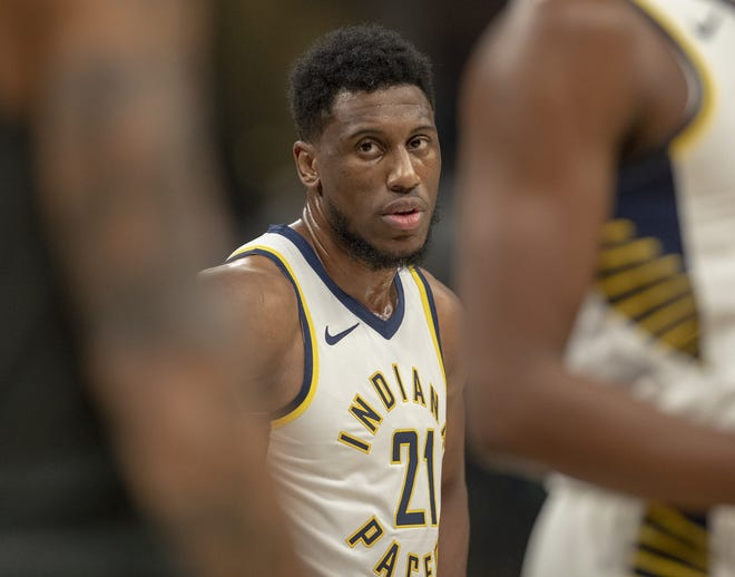 Thaddeus Young has become a force for the Pacers beyond his game skills; he is policing his fellow Pacers.