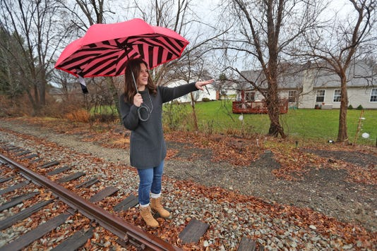 Residents Along The Nickel Plate Railroad Track Worry About Their Home S Future When Trail Will Be Built