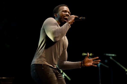 Joshua Henry performs onstage during the 4th Annual Elsie Fest, Broadway's Outdoor Music Festival at Central Park SummerStage in 2018 in New York City. He'll perform at The Cabaret.
