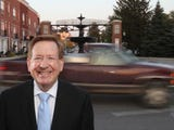 A city-leased vehicle being driven by Carmel Mayor Jim Brainard was involved in a crash in December 2018. It's the fourth time a vehicle provided by the city to Brainard has been damaged.