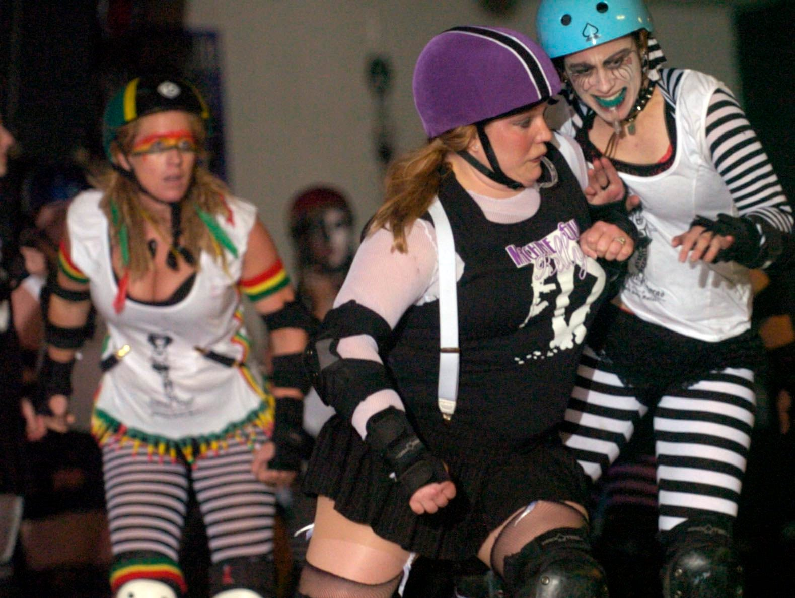 The Hard Knox Roller Girls. 2006