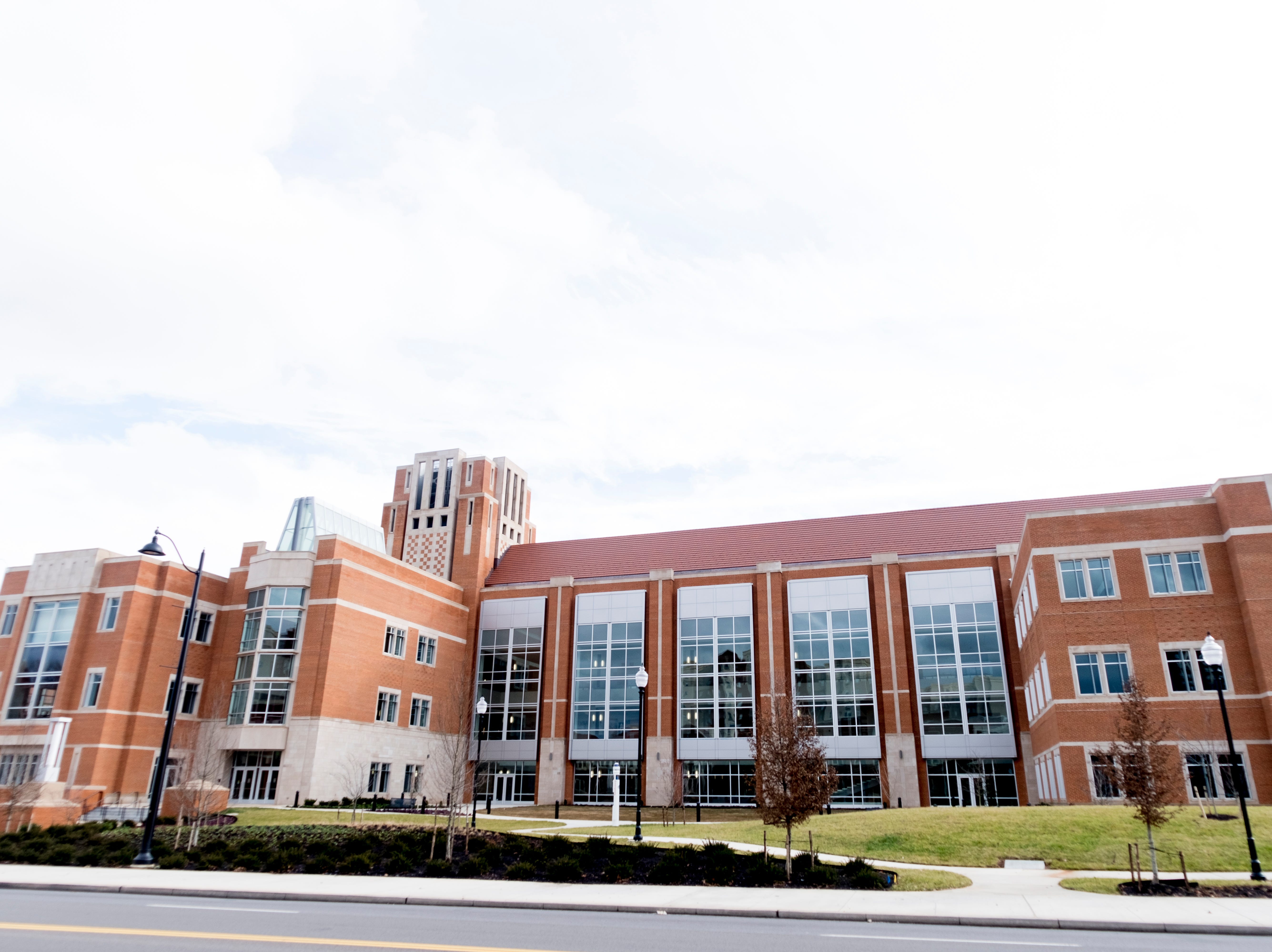 The new University of Tennessee Student Union is set to open on the UTK campus in Knoxville, Tennessee on Tuesday, January 1, 2019.