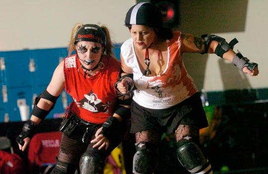 The Hard Knox Roller Girls. 2006