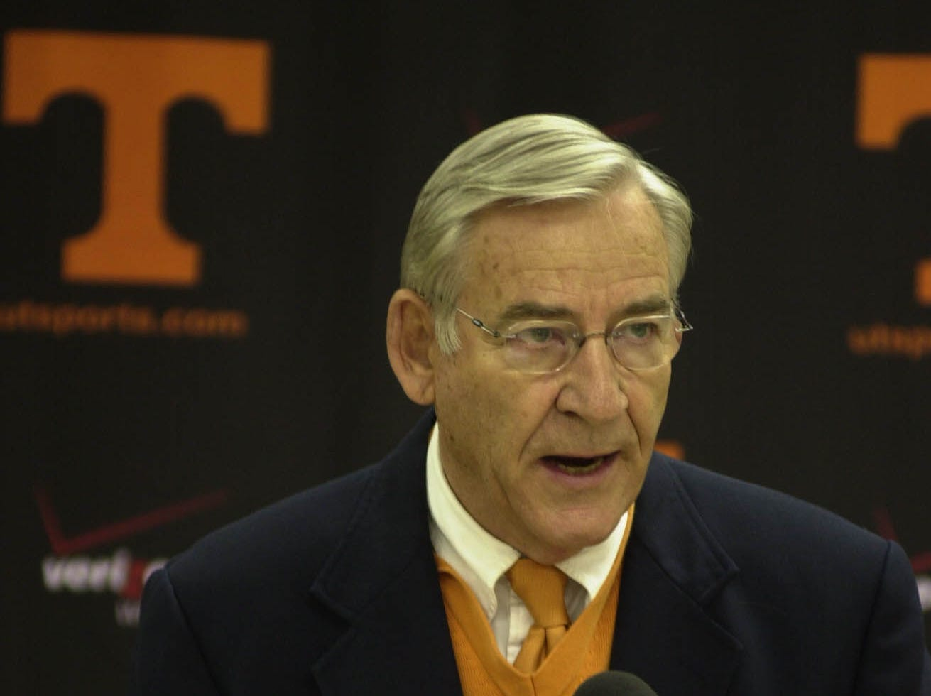 UT Athletics Director Doug Dickey speaks to the media about investigations into the Tennessee football program.