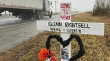 """Glenn Rightsell's family says he was fixing his daughter's car on U.S. 231.. ISP trooper Daniel Organ says he ignored """"verbal commands."""""""