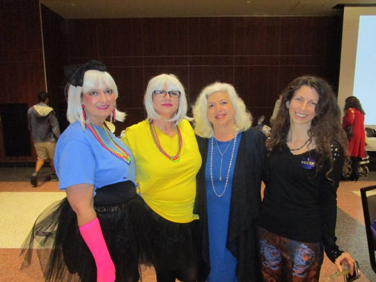 Crystal Scrantzm, Lisa LeBlanc, Bobbie Hollier and Kate Spear