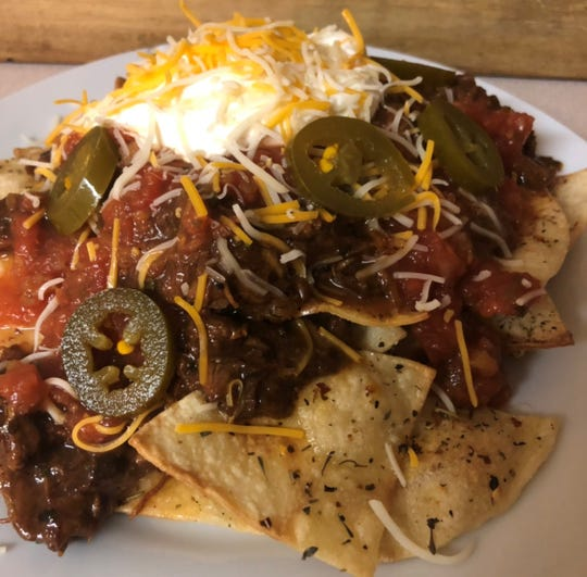 New Year Nachos (with BBQ Pulled Pork)