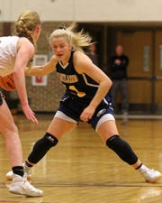 Amanda Roach is one of four freshmen playing regularly for Hartland.