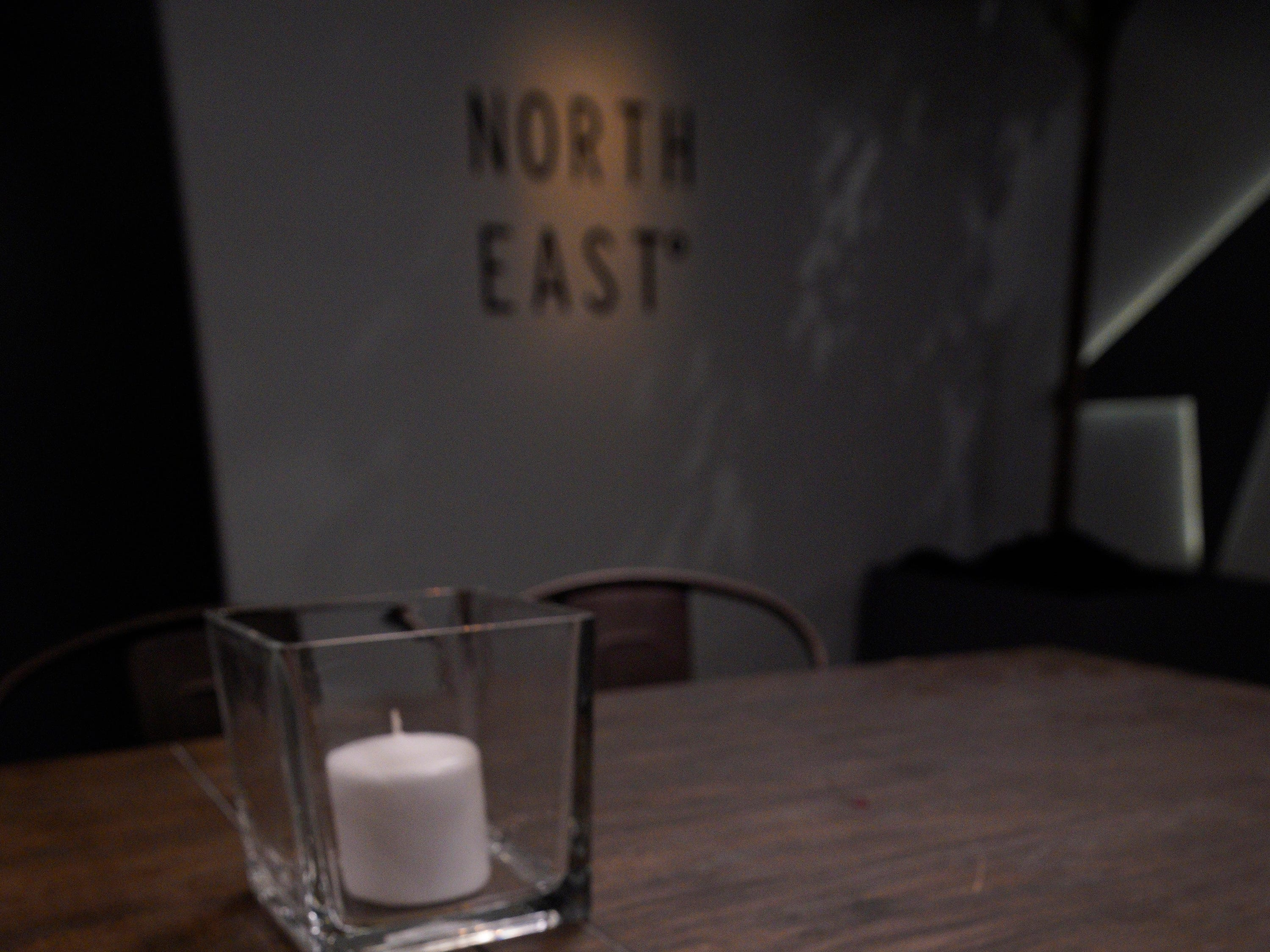 """The menu for North East, one of three restaurants on Restaurant Wars, episode 5 of Bravo's """"Top Chef"""" Kentucky."""
