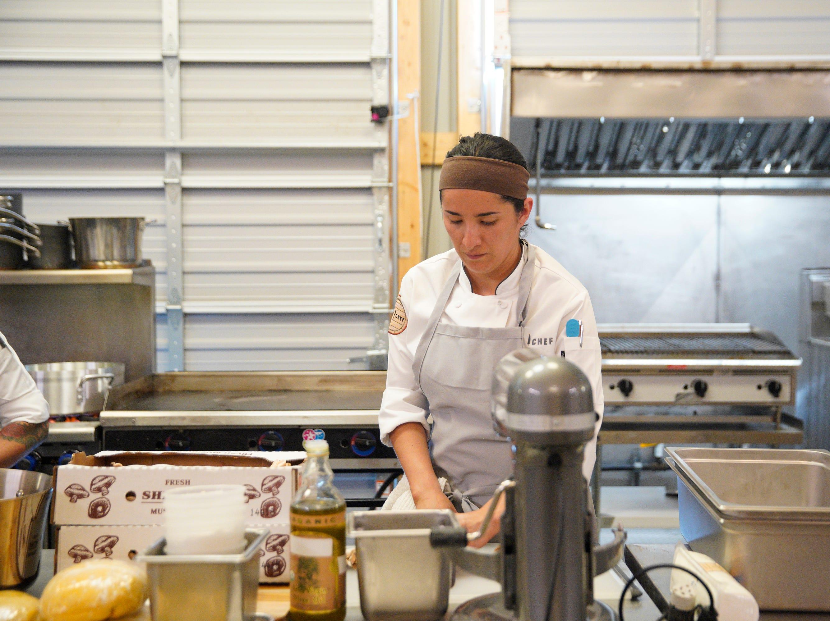 "Contestant Michelle Minori on on episode 5 of Bravo's ""Top Chef"" Kentucky."