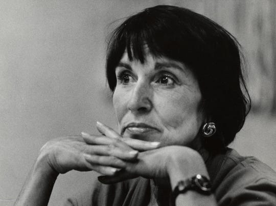 Suzy Post, leader of American Civil Liberties Union. 