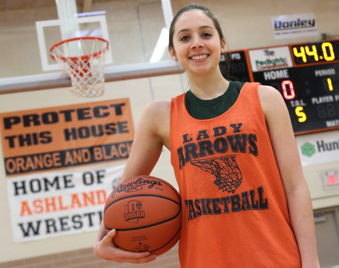 Ashland's Alyssa Steury was named Division I special mention All-Ohio on Wednesday.
