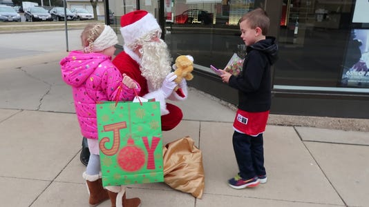 Christmas Downtown Kid 1