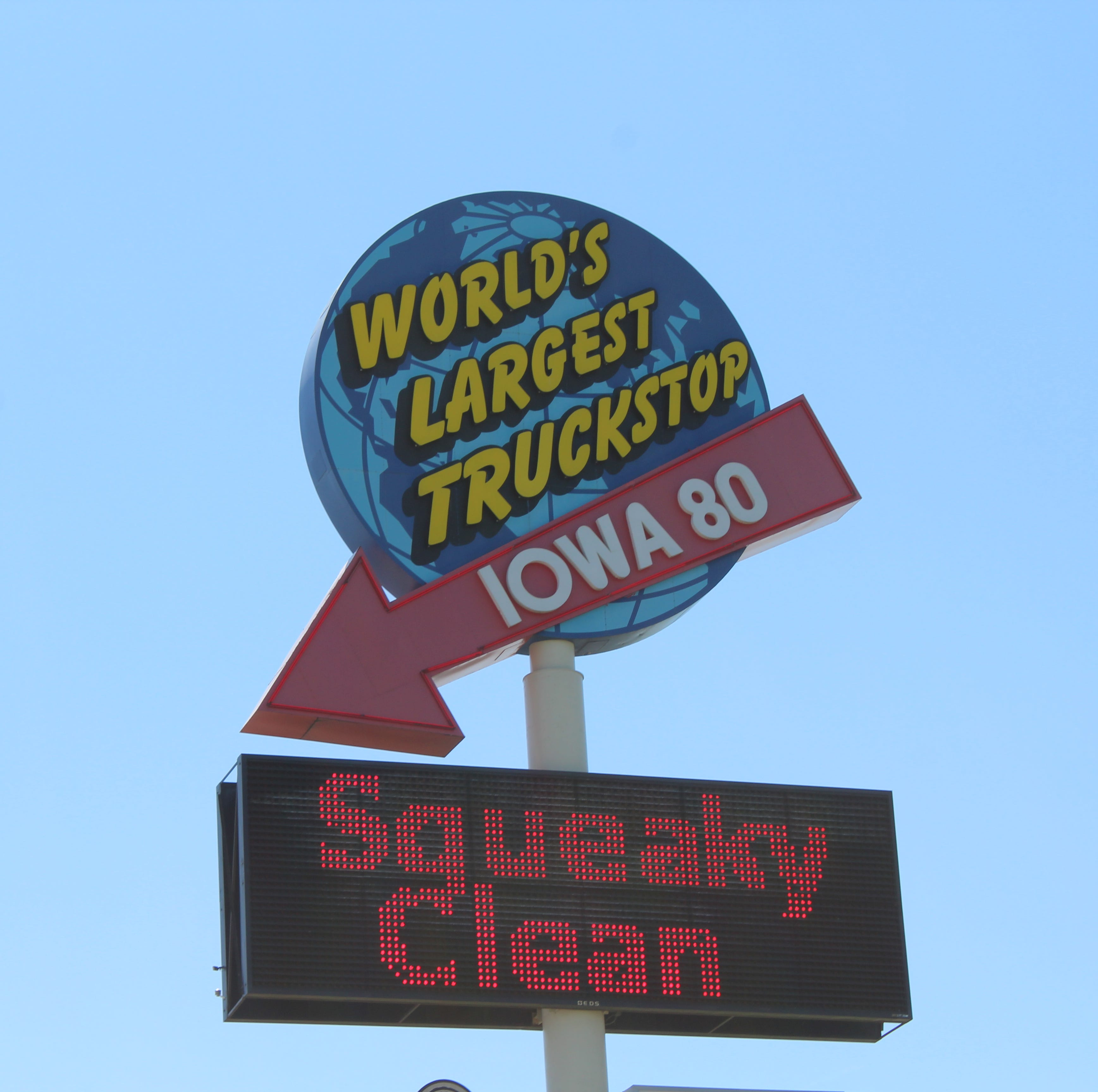 World's largest truck stop is an oasis in Iowa - halfway between New York and San Francisco