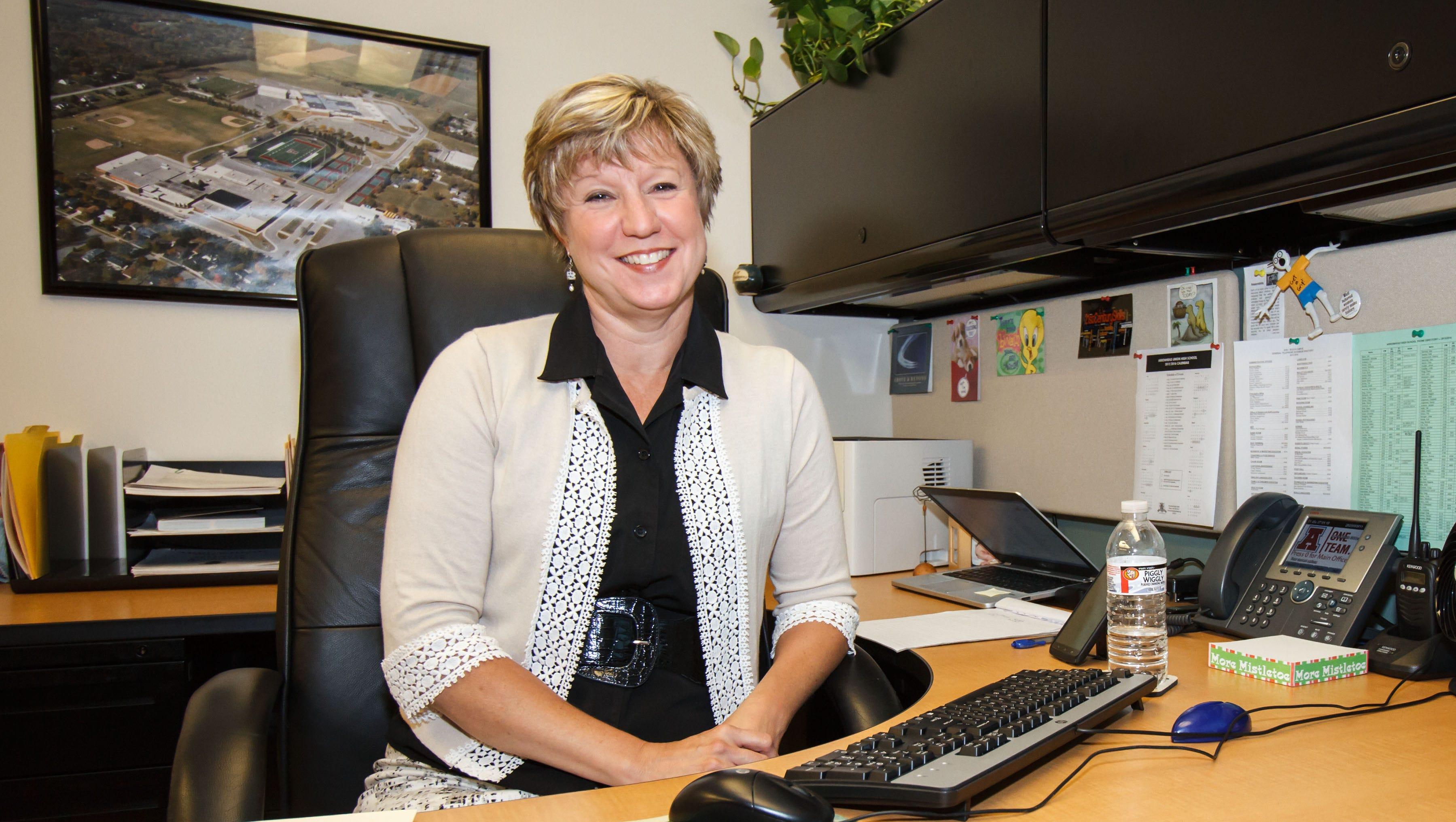 Arrowhead Superintendent Laura Myrah is one of the highest-paid school superintendents in the Milwaukee suburbs.