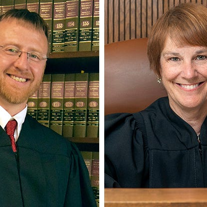 Neubauer questions whether Hagedorn can be fair, as he calls her attacks 'shameful' at state Supreme Court debate