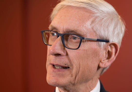 Gov.-elect Tony Evers is shown during an interview Wednesday, Jan. 2, 2019, in Madison, Wis.