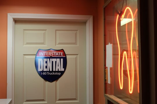 Dr. Thomas Roemer has a dental office in the Iowa 80 truck stop.