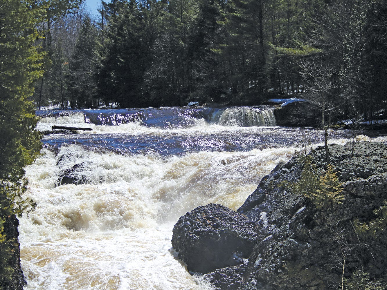 Potato River Falls, Gurney.