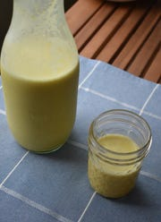 Turmeric Golden Milk is a warm, soothing beverage for a chilly day.