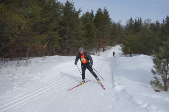 Forest Frenzy Winter Triathlon consists of a 7.5-kilometer cross-country ski, a 5-kilometer snowshoe event and a 7.5-kilometer fat tire bike race.