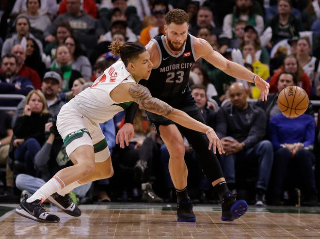 D.J. Wilson has been a welcome addition to the defense, holding his own against stars such as the Pistons' Blake Griffin.