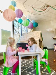 """Calie Herbst, author of """"Exploring Milwaukee with Kids,"""" enjoys places like Little Sprouts Play Cafe in Shorewood for ways for kids and their parents to have fun at the same time."""